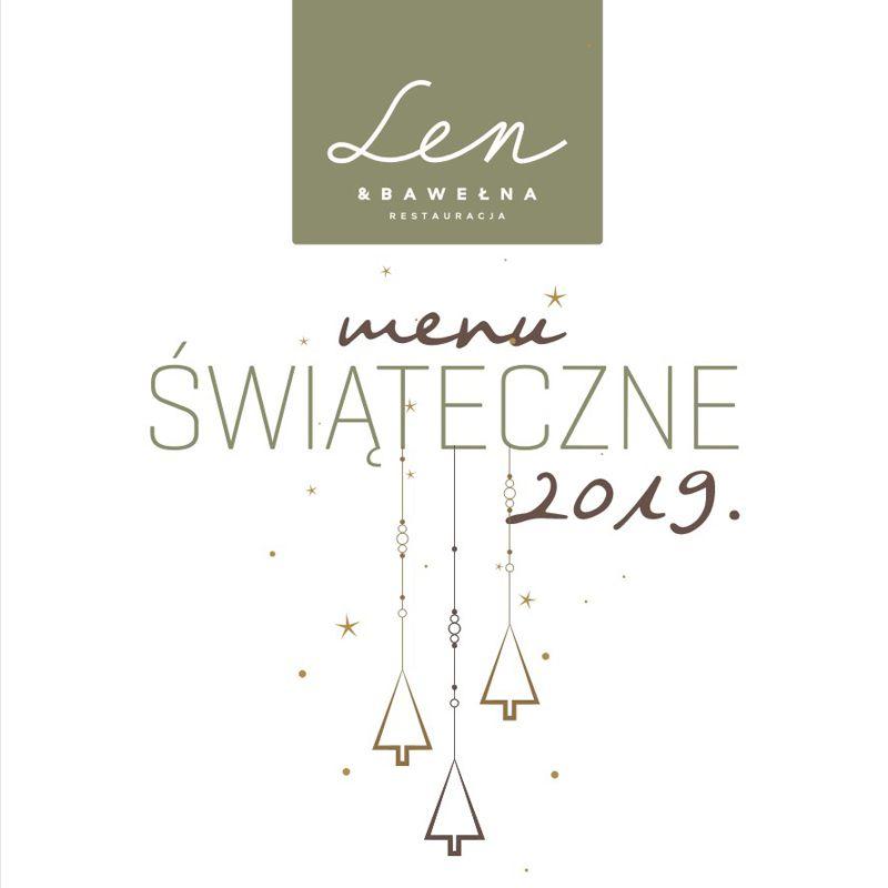 Menu świąteczne Len i Bawełna Łódź
